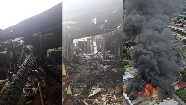 196 locales de Guamilito fueron consumidos por incendio