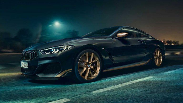 BMW Serie 8 Golden Thunder Edition: un trueno de oro que pocos tendrán