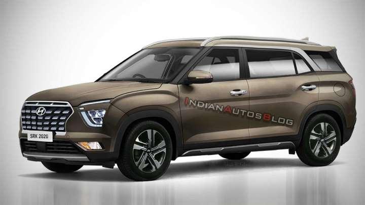 Alcazar: el posible nuevo SUV de siete asientos de Hyundai