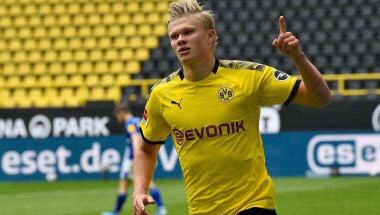 Haaland le da la victoria al Borussia Dortmund ante el Düsseldorf
