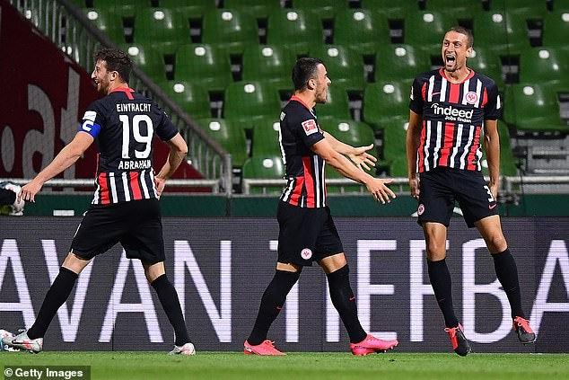 Bundesliga: Frankfurt se impone 3-0 ante el Werner Bremen