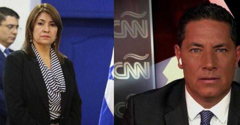"Honduras: Alba Flores niega entrevista a CNN por tener ""agenda llena"""