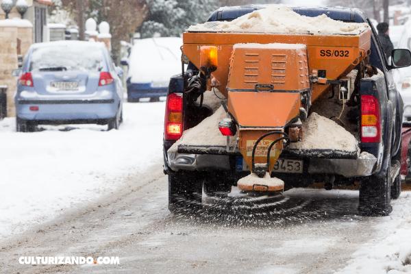 La sal, sustancia que derrite la nieve: conoce cómo ocurre este proceso