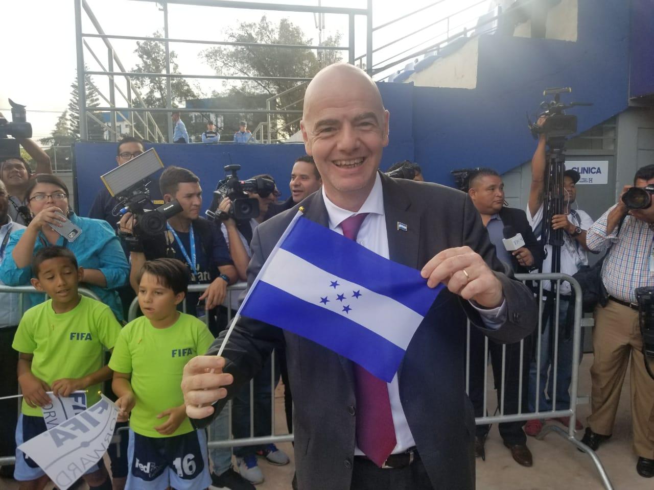 FIFA soltará ayuda millonaria a Honduras