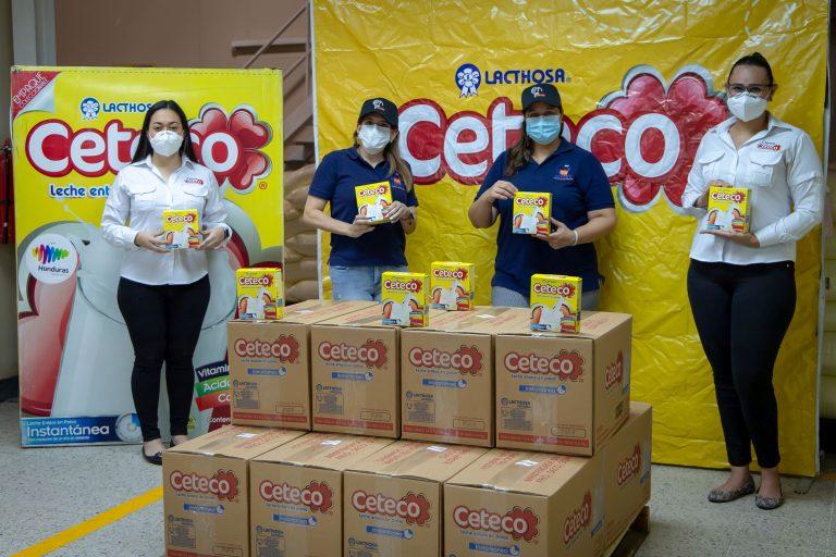 Ceteco dona a CEPUDO 3,000 vasos de leche en Día Mundial de la Leche