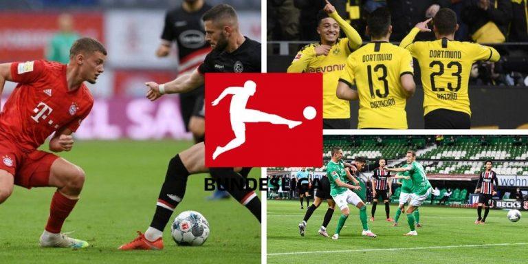 Resultados de la Jornada 29 de la Bundesliga