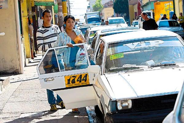 sector de los taxis