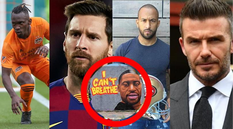 Messi, Beckham, «Muma» y Elis se unen al ¿#blackoutuesday?