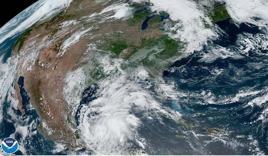 Se forma tormenta tropical «Cristóbal» en el Golfo de México