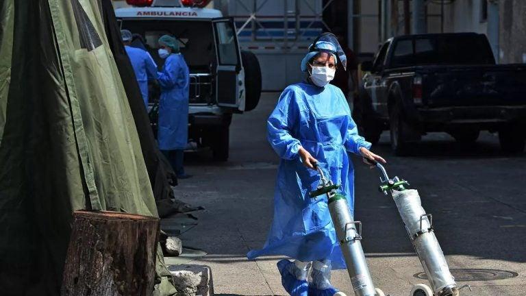 Ocho fallecidos por COVID-19 en el Hospital Escuela; dos ingresaron graves