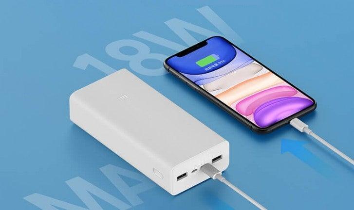 Xiaomi anuncia poderosa powerbank: capacidad de 10 cargas completas