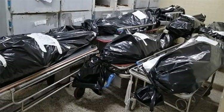 Cadáveres siguen «apilándose» en pasillos de la morgue del Hospital Escuela