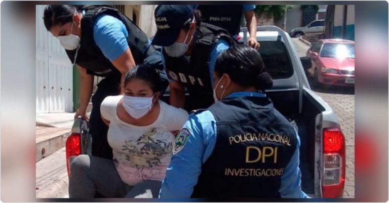 Detienen a maestra por golpear a su bebé de 11 meses en Tegucigalpa