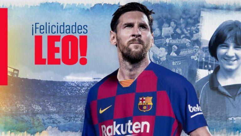 FELICIDADES FENÓMENO: Lionel Messi cumple 33 años