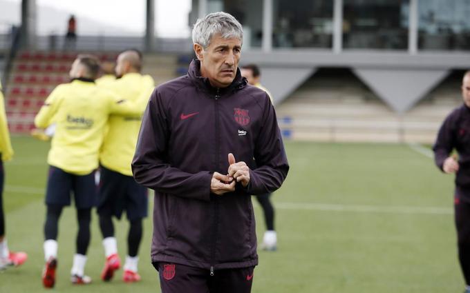 La convocatoria de Quique Setién para enfrentar a Atlético de Madrid ¿cambios?