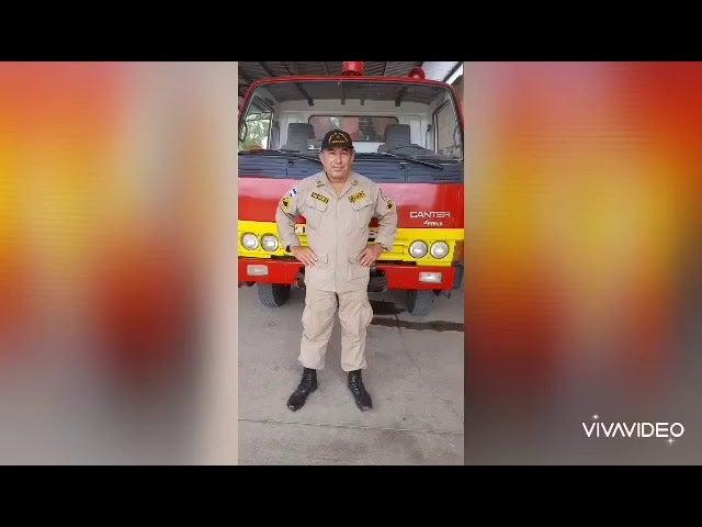 VÍDEO: Tras 22 años de servicio, por COVID-19 muere bombero en Choluteca