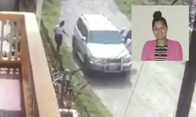 VÍDEO: cámara capta cómo le quitaron la vida a universitaria en La Ceiba