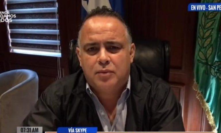 San Pedro Sula es «solidaria» y apoya a otros municipios ante el covid-19: Calidonio
