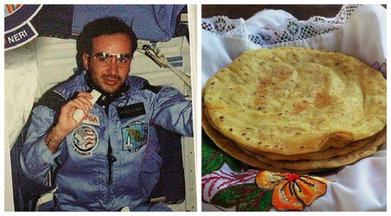 ¿Cómo llegó la tortilla a formar parte del menú de la NASA?