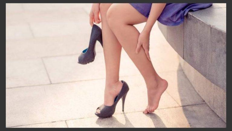 ¡Atención! Usar zapatos inadecuados provoca problemas de salud