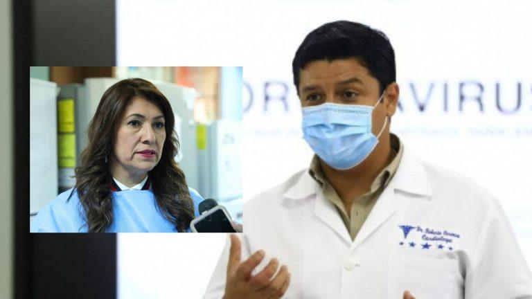 ¿Colapsados o no los hospitales? Cosenza y ministra de Salud se contradicen