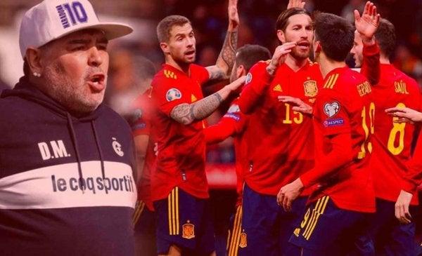 Maradona podría ser el próximo entrenador de España