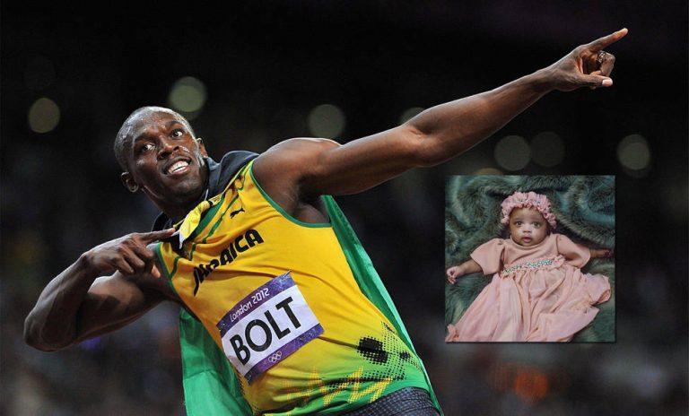 AL FÍN: Conoce a Olympia, la hija de Usain Bolt
