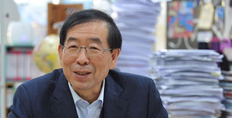 Hallan muerto el alcalde de Seúl desaparecido horas antes, ¿Suicidio?