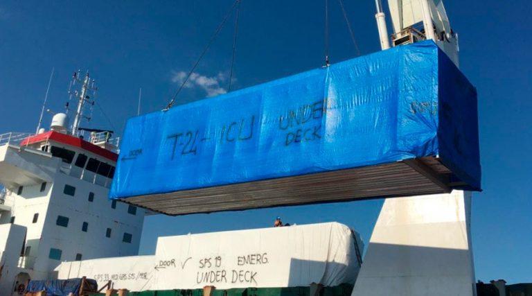 Hospitales móviles: Marina Mercante asegura que buque navega por Jamaica