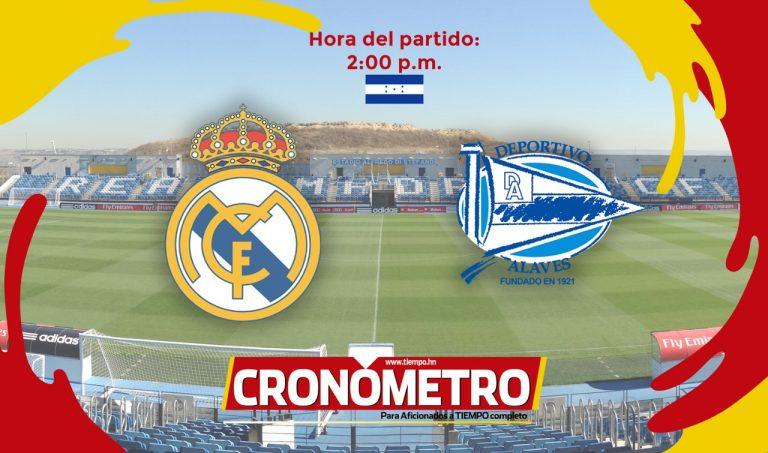 HOY: Real Madrid recibe al Alavés y busca mantenerse en el liderato