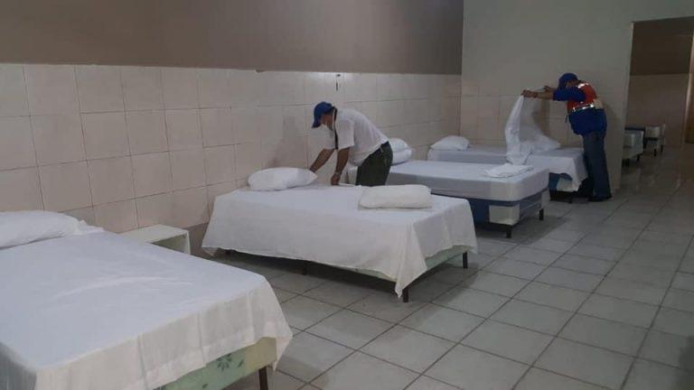 Aumento de casos: con donaciones habilitan más salas de triaje en La Ceiba