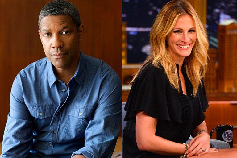 Julia Roberts y Denzel Washington fichan con Netflix para una nueva película