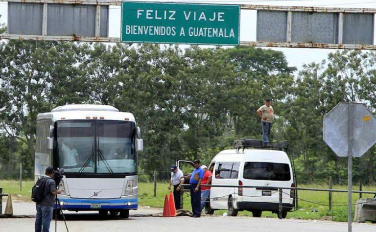 Tras protesta, transportistas de carga llegan a un acuerdo con Guatemala