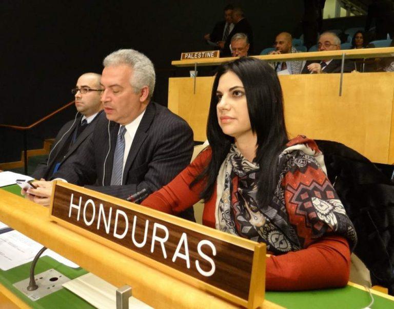 Embajadora Lizzie Flores nuevamente solicita a la ONU insumos para COVID-19