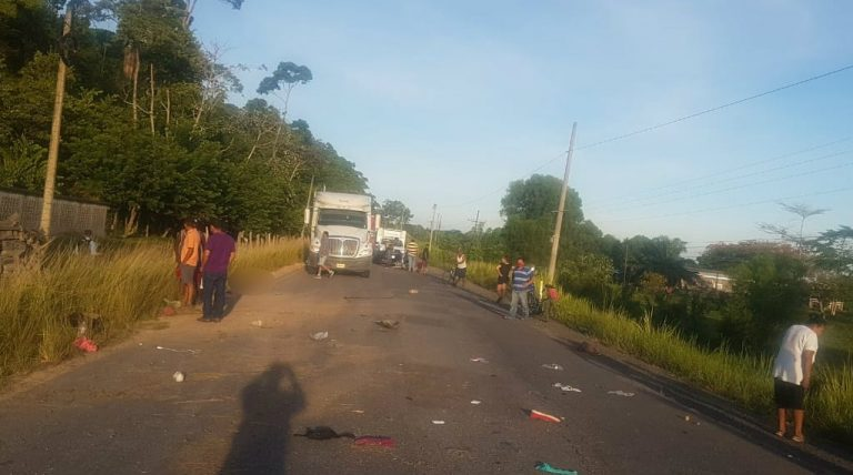 La Ceiba: identifican a los cinco fallecidos tras fatal accidente en la CA-13