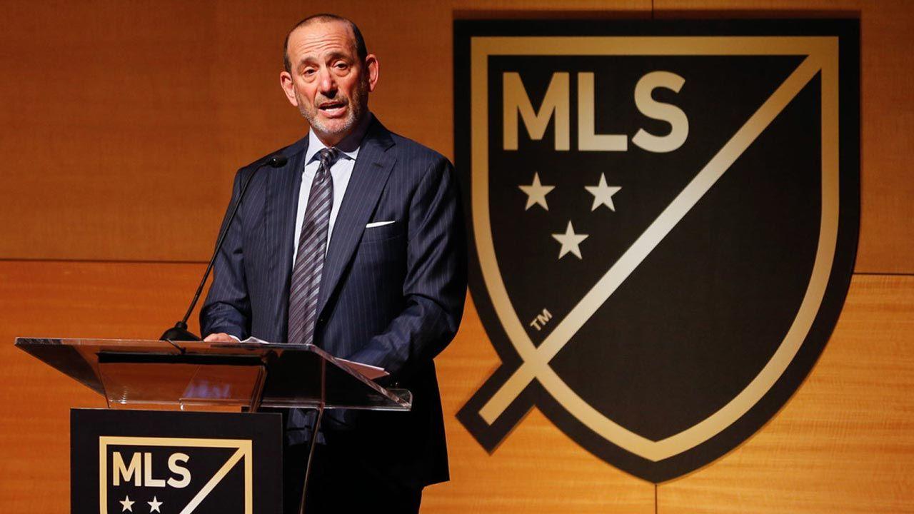 Presidente de la MLS: «El torneo sigue en marcha»