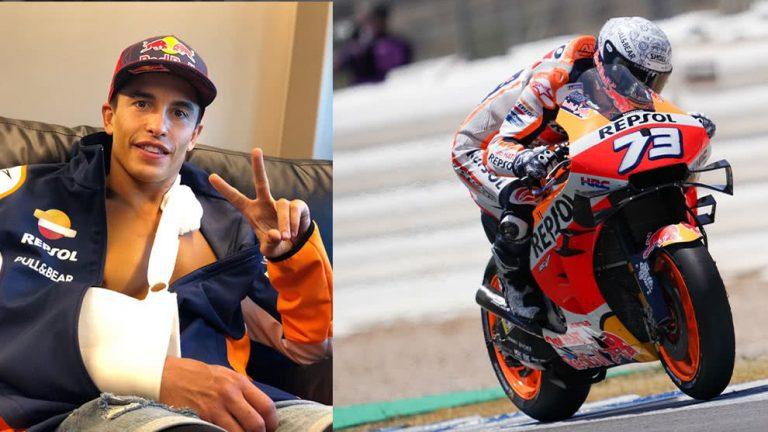 MOTOGP: Marc Márquez pasa examen médico y se alista para el GP de Andalucía