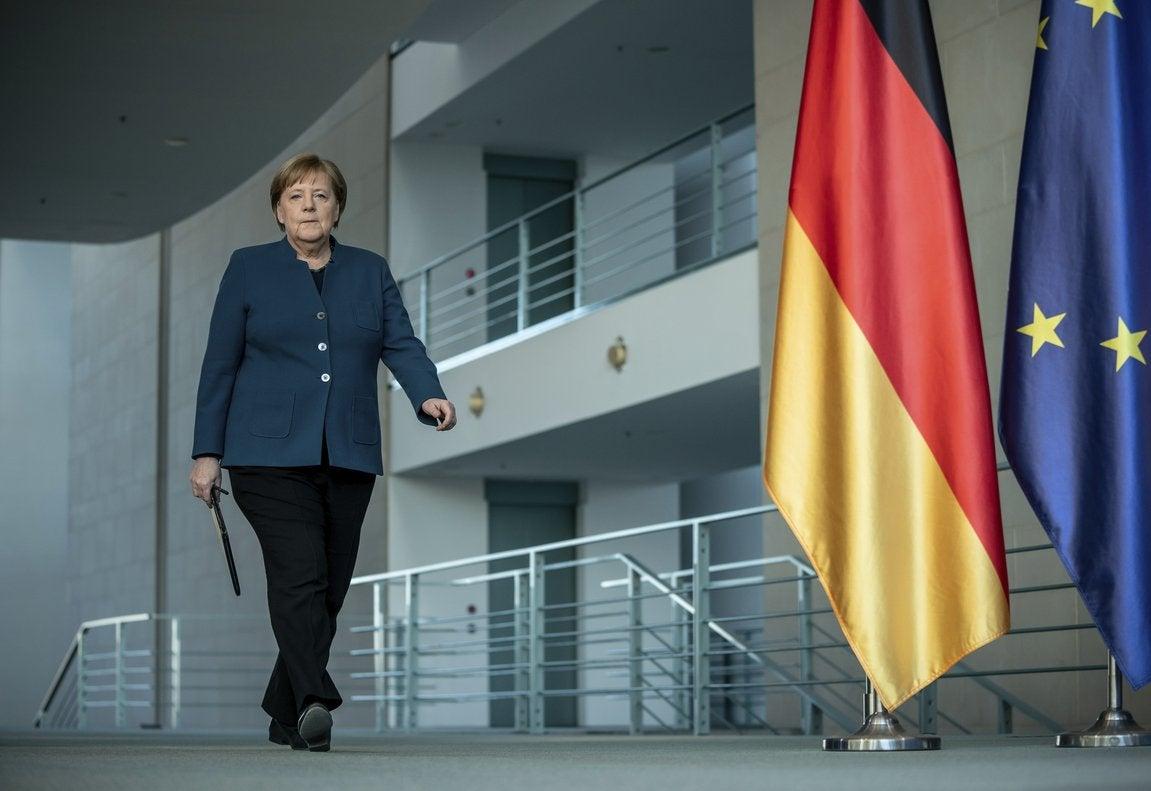 La gestión de Angela Merkel, la canciller federal de Alemania, ha sido alabada durante la pandemia.