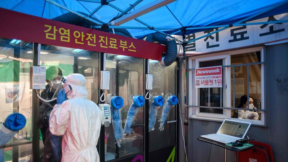 Corea del Sur actuó con rapidez: caso detectado, paciente aislado.