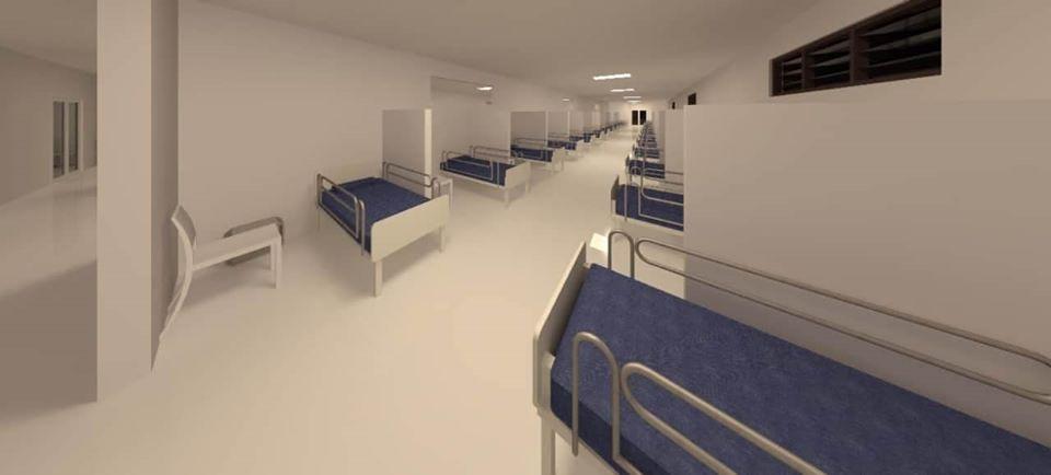 Con fondos propios construirán centro COVID en Olanchito