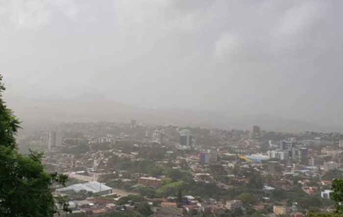 ¿Cuándo dejará de afectar a Honduras el polvo del Sahara?