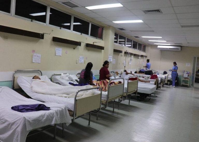 Camas para pacientes con COVID-19 están llenas en Hospital San Felipe