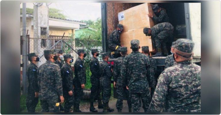 Choluteca: Ejército de Estados Unidos realiza donativo al Hospital del Sur
