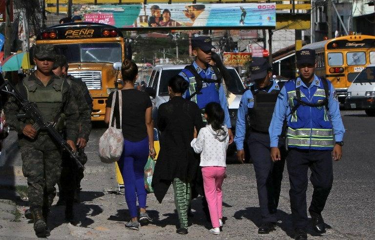 inseguridad en Honduras