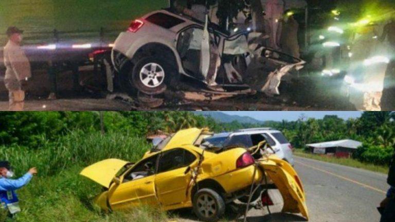 Al menos 10 personas murieron en accidentes de tránsito este fin de semana