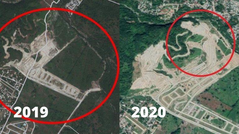Masacre ambiental silenciosa: en cinco años, así ha cambiando el Merendón