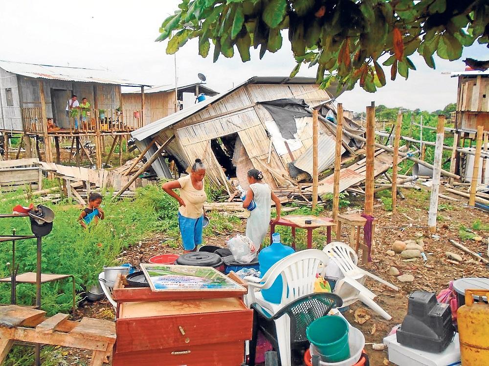 2 mil hondureños sin hogar