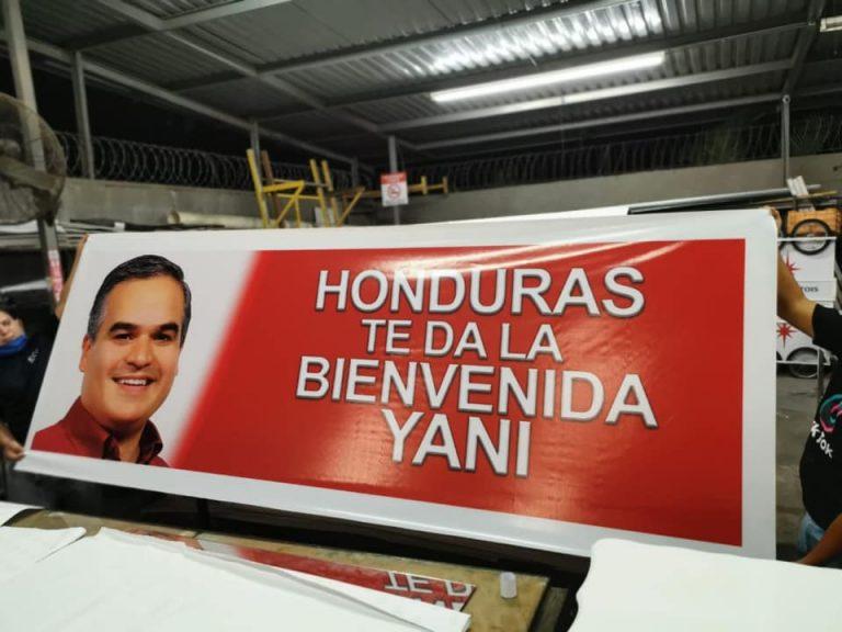 Líderes y ciudadanos de toda Honduras, listos para recibir a Yani Rosenthal