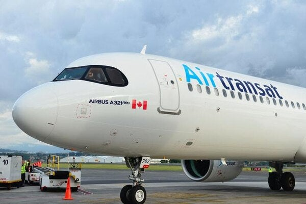 Aerolínea canadiense Air Transat