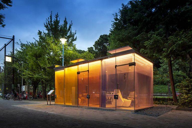 Baños públicos transparentes: el curioso éxito de la nueva sensación en Tokio